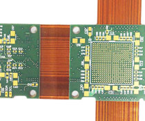 HDI Rigid-flex Circuit Board with Vias