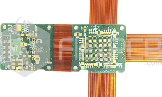 HDI Rigid-flex PCB with Vias