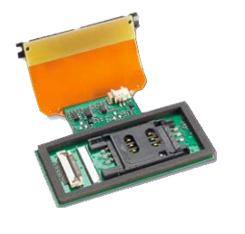 Rigid-flex PCB component assembly
